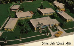 Siesta Isle Beach Apartments Postcard
