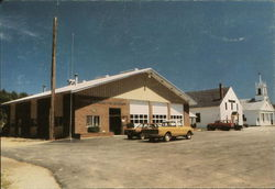 Center Barnstead Fire Department, Town Hall and Christian Church