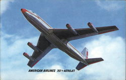 American Airlines 707 Astrojet