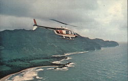 South Sea Helicopters, Inc. Postcard
