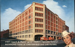 Liggett & Myers Cigarette Factory