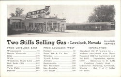 Two Stiffs Selling Gas