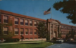 Framingham State Teachers College - Dwight Hall Postcard