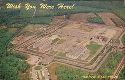 Wish You Were Here - Walpole State Prison, Aerial View