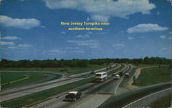 New Jersey Turnpike near southern terminus