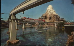 Monorail and Matterhorn Mountain