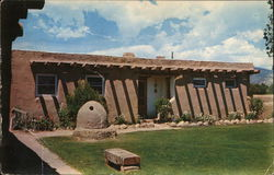 Philmont Scout Ranch - Patio of Plaza de Kit Carson