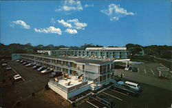 Hyannis Holiday Motel Postcard