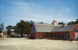 The Blacksmith Shop Restaurant on Route 28, South Yarmouth Postcard