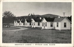Bristol's Cabins and Gift Shop, Wyman Dam