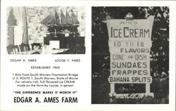 Edgar A. Ames Farm - Ice Cream