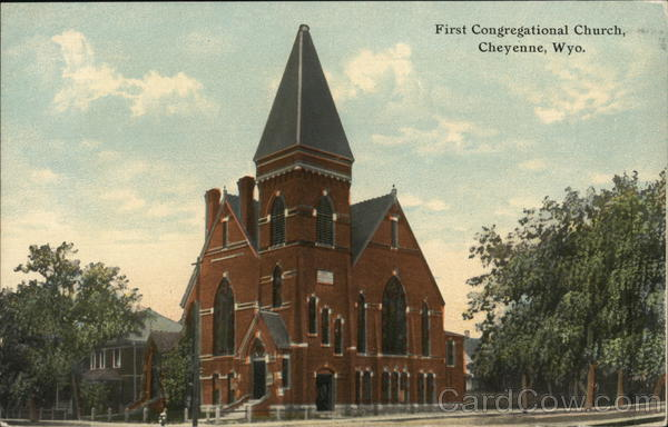 First Congregational Church Cheyenne Wyoming
