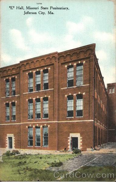E Hall, Missouri State Penitentiary Jefferson City