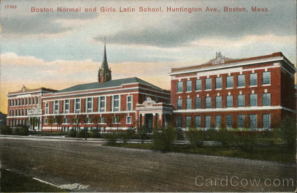 Boston Normal and Girls Latin School Massachusetts