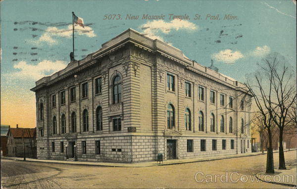 New Masonic Temple St. Paul Minnesota