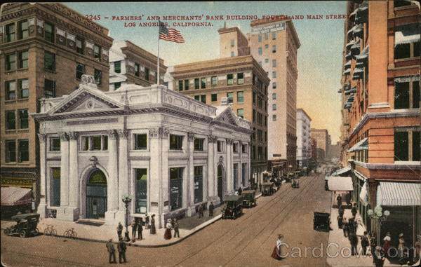 Farmers and Merchants Bank Building Los Angeles California
