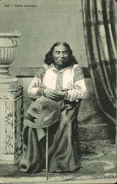 Chief Seattle Native Americana