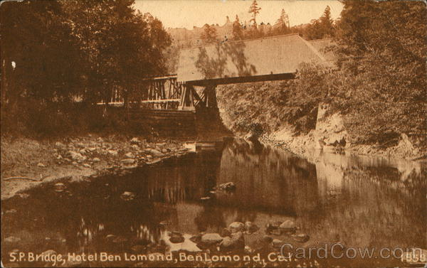 S.P. Bridge, Hotel Ben Lomond California