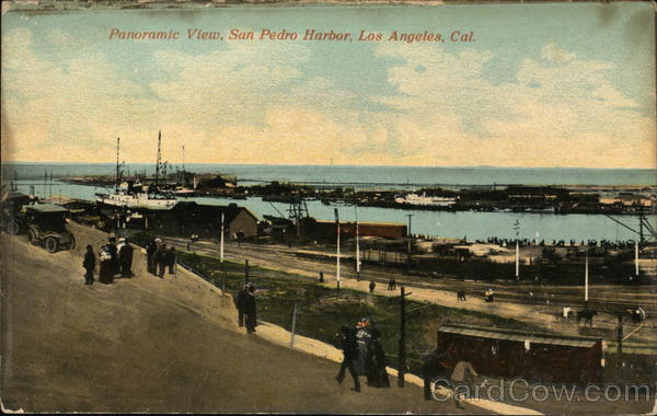 San Pedro Harbor Los Angeles California
