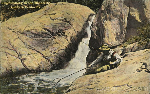 Trout fishing in the mountains southern california for Trout fishing southern california
