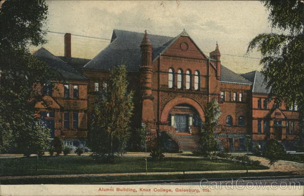 Knox College - Alumni Building Galesburg Illinois