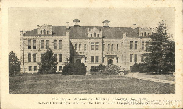The Home Economics Building Universities
