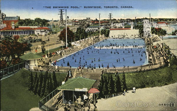 The Swimming Pool, Sunnyside Toronto Canada Ontario
