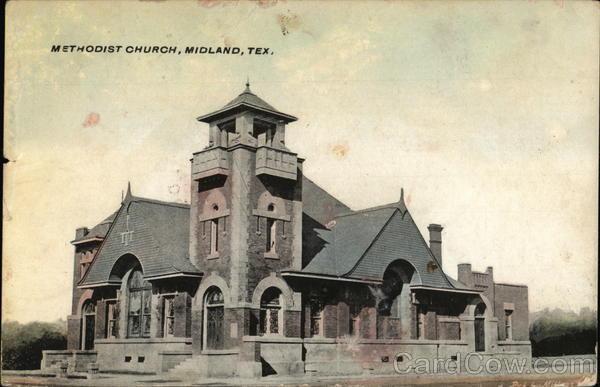 Methodist Church Midland Texas