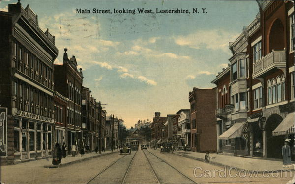 Main Street, Looking West Lestershire New York
