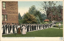 Seniors Marching to Chapel, Mt. Holyoke College