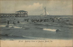 Bathing Scene at Buchroe Beach