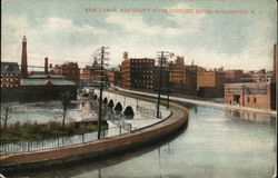 Erie Canal Aqueduct Over Genesee River