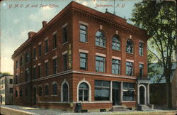 Y. M. C. A. and Post Office Postcard