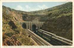 Raton Tunnels - Highest Point on Santa Fe Railroad