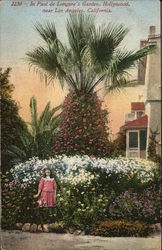 In Paul de Longpre's Garden, Hollywood