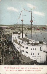 Ship Cafe Postcard