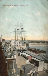 Ship Hotel, Cabrillo Postcard