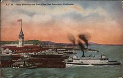 Ferry Building and Boat Slips
