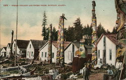 Indian Village and Totem Poles, Howkan