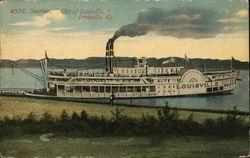 "Steamer, ""City of Louisville"""