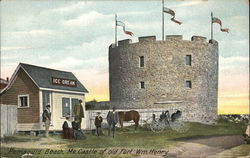 Castle of Old Fort Wm. Henry