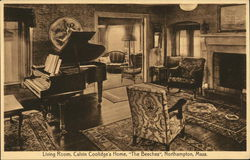 "Living Room, Calvin Coolidge's Home, ""The Beeches"""