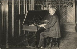 Professor Hammon at the Clavichord