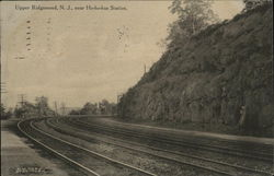 Railroad Tracks near Ho-Ho-Kus Station