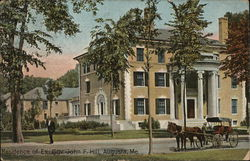 Residence of Ex-Governor John F. Hill