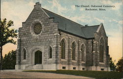 The Chapel at Oakwood Cemetery