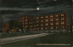 St. Mary's Hospital at Night