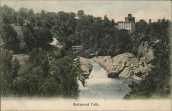 View of Redwood Falls