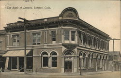 Bank of Lompoc Postcard