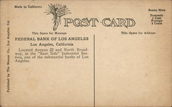 Federal Bank of Los Angeles